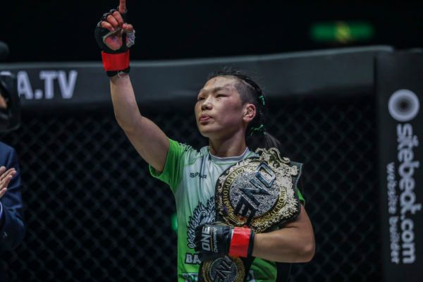 ONE Strawweight World Champion Xiong Jing Nan defends her belt at ONE: A NEW ERA