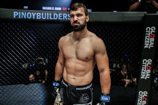 Veteran kickboxer Andre Stoica in April 2019