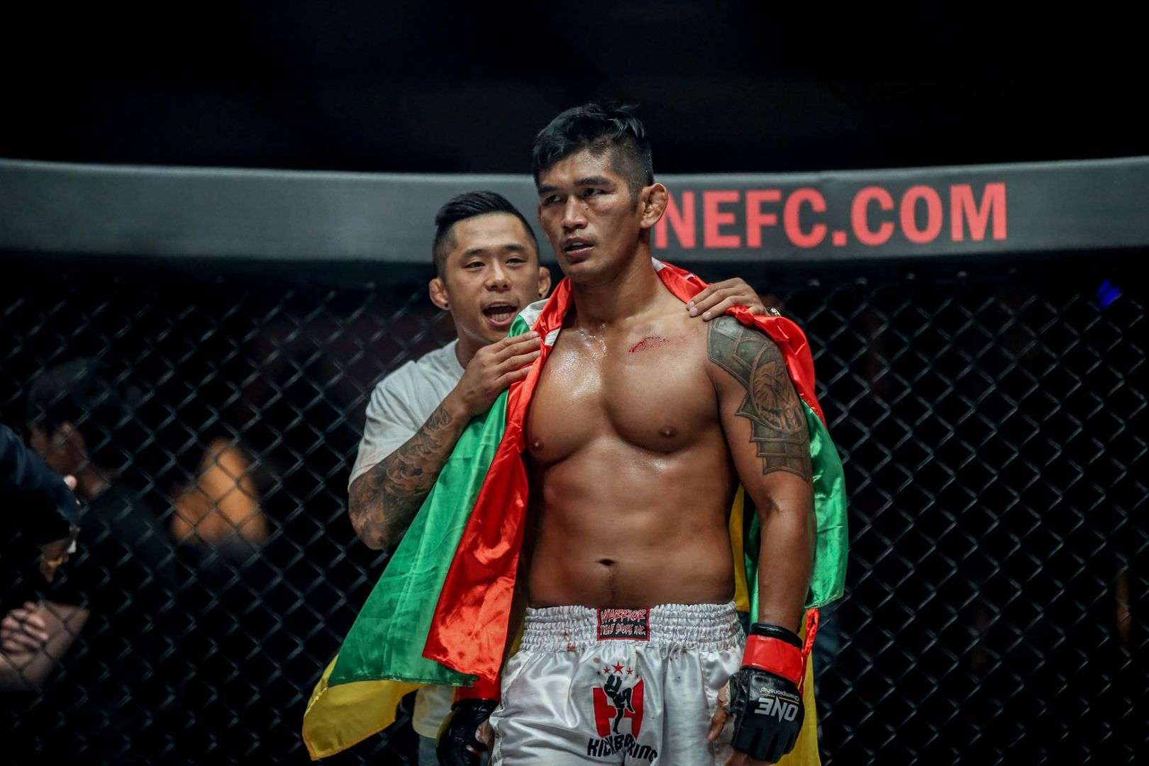 Two-division ONE World Champion Aung La N Sang