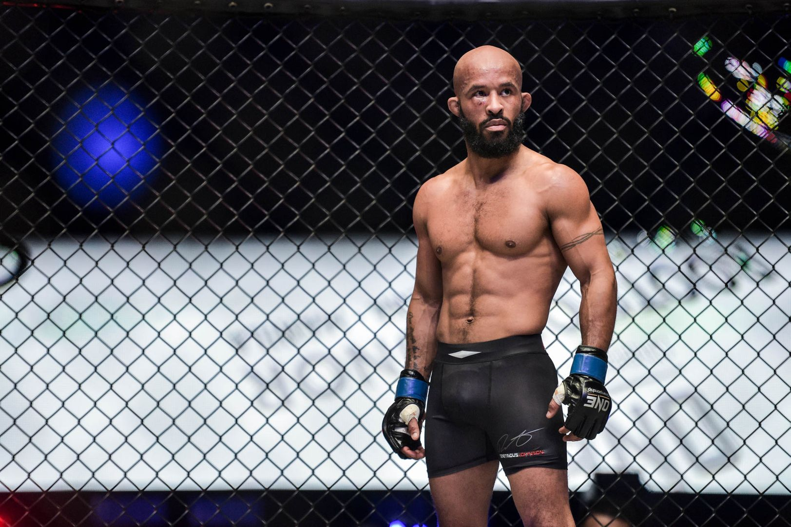 american flyweight mixed martial arts icon Demetrious Johnson