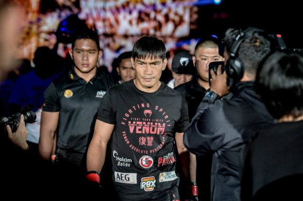 philippine martial artist and one lightweight world champion Eduard Folayang