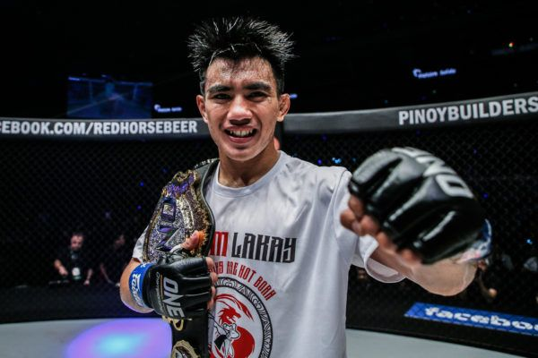 ONE Strawweight World Champion Joshua Pacio