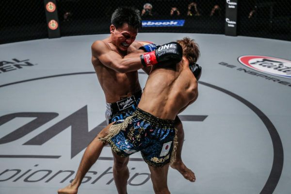 Lerdsila Phuket Top Team knees Momotaro