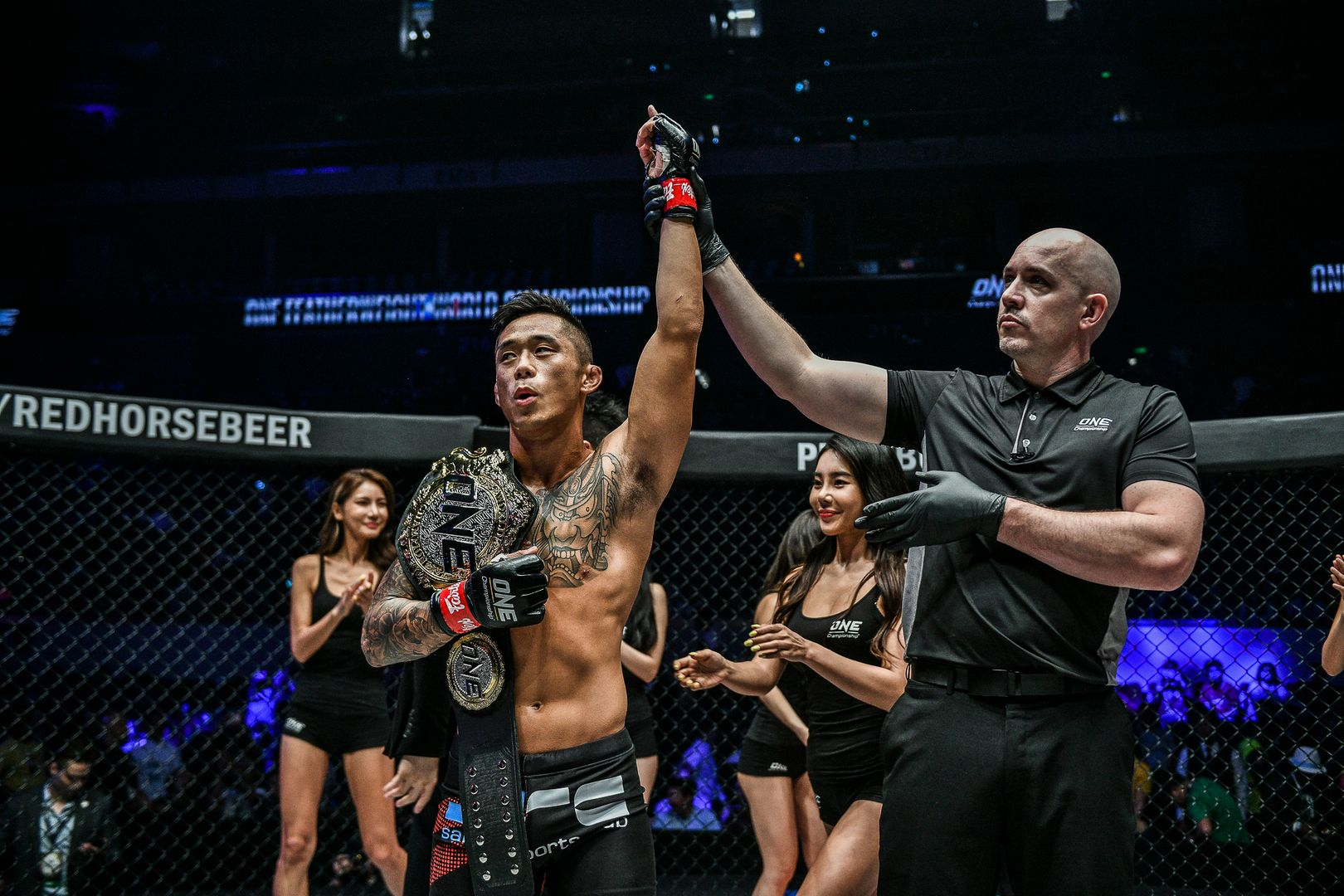 ONE Featherweight World Champion Martin Nguyen defends his belt