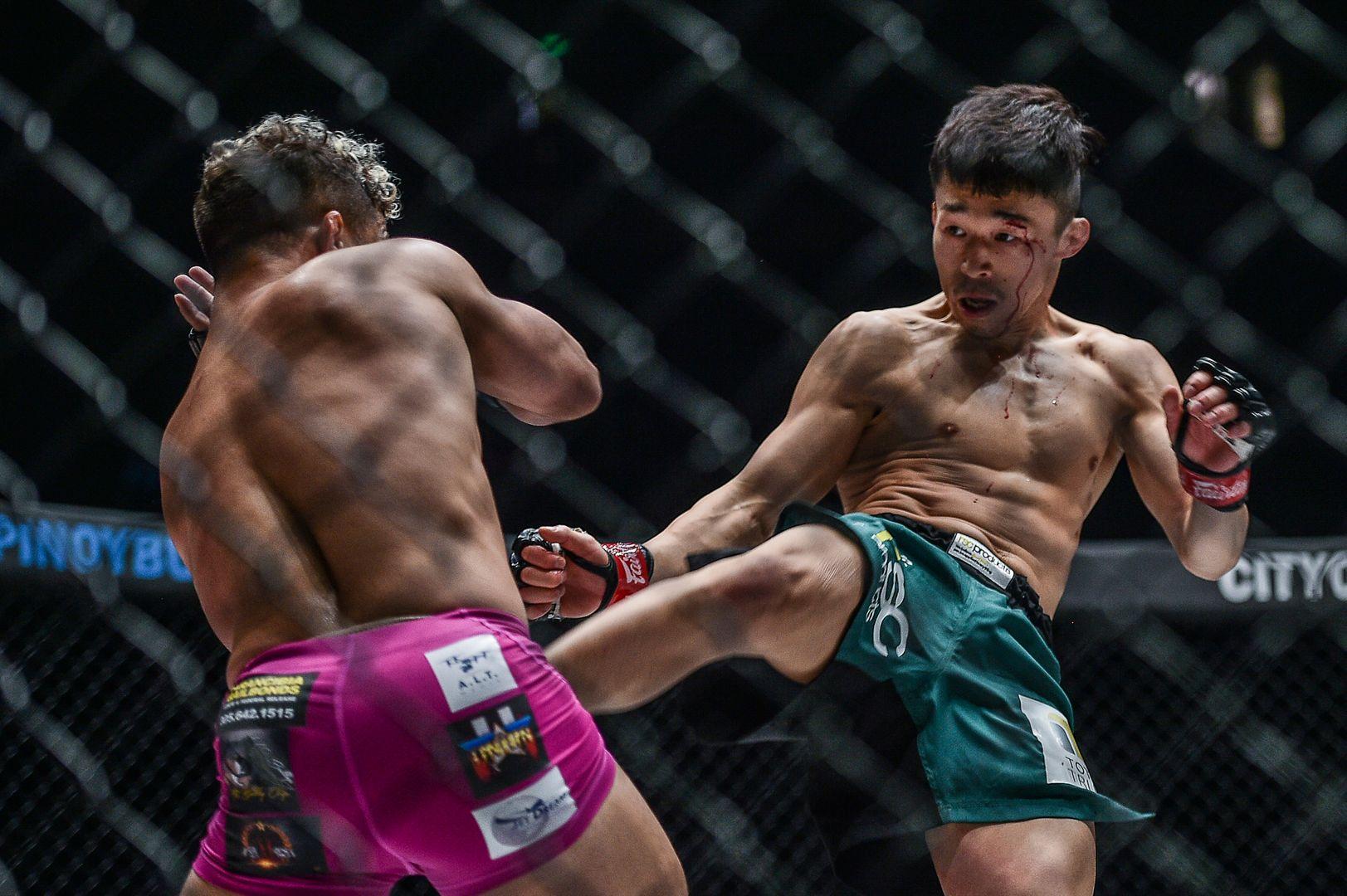 Japanese martial artist Tatsumitsu Wada