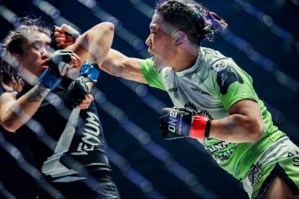 ONE Women's Strawweight World Champion strikes Angela Lee in March 2019