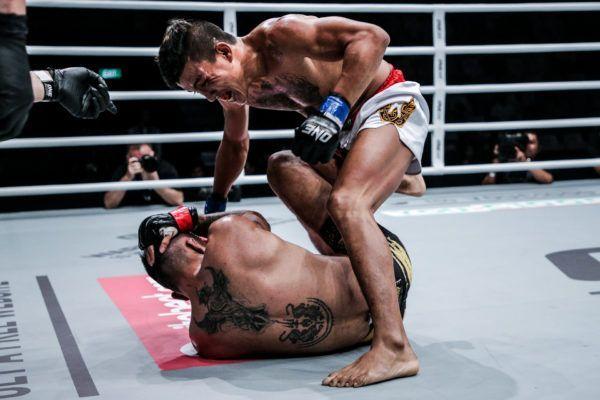 Chan Rothana's Powerful Striking Scores TKO Of Rudy Agustian