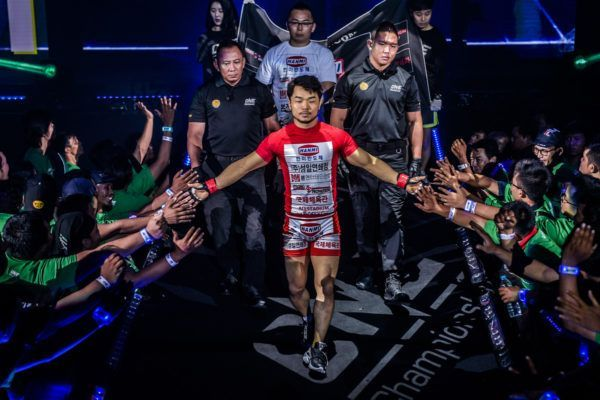 Dae Hwan Kim's walkout at ONE: FOR HONOR