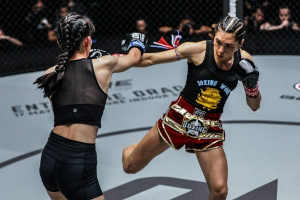 Janet Todd Demolishes Wang Chin Long With Low Kicks In Bangkok