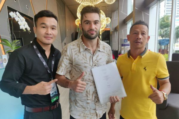 Rafi Bohic makes it official with ONE Championship