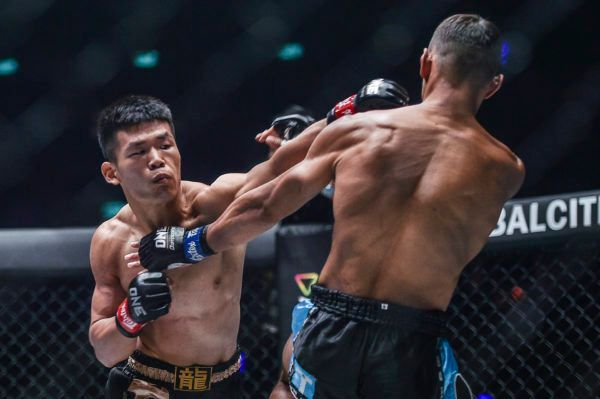 Zhang Chenglong's Huge Final Round Leads To Kickboxing Victory