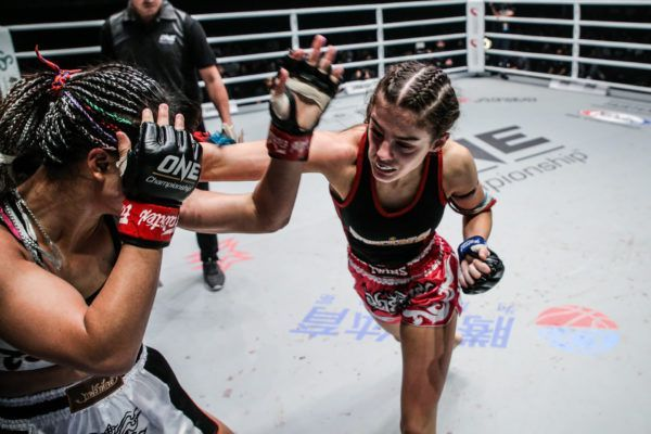 Alma Juniku makes her ONE Super Series Muay Thai debut