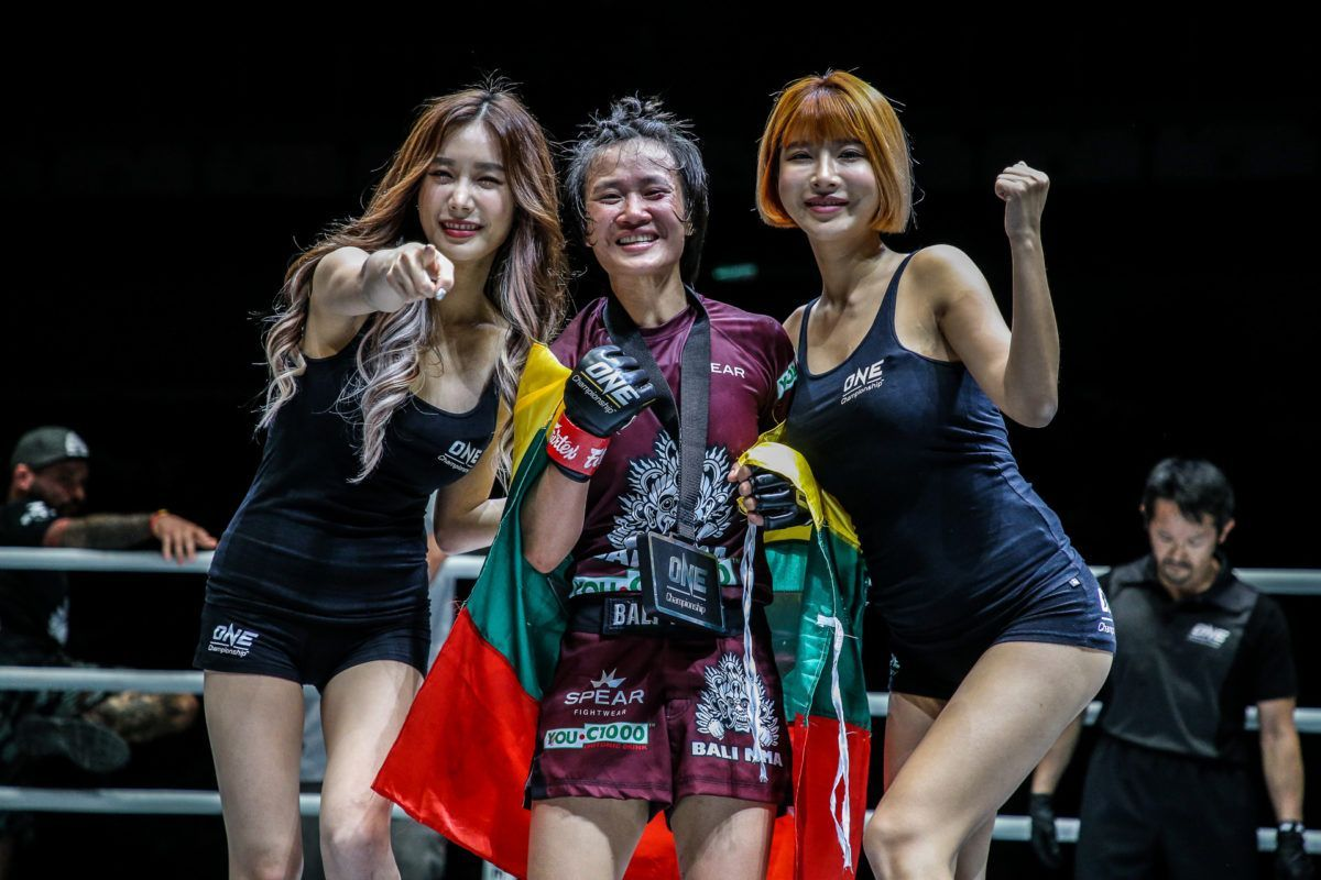 Bozhena Antoniyar Breaks Down How She Got The Edge Against Bi Nguyen