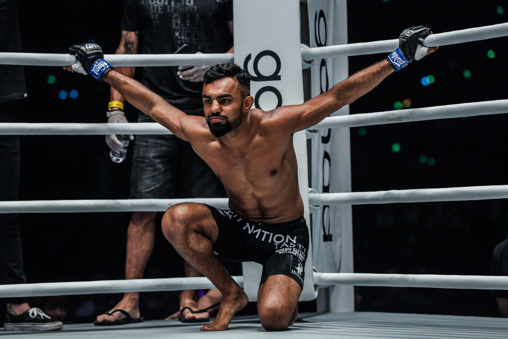 Indian mixed martial artist Gurdarshan Mangat