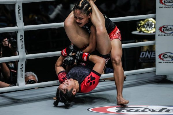 Jihin Radzuan Impresses With First-Round Triangle Choke In Malaysia