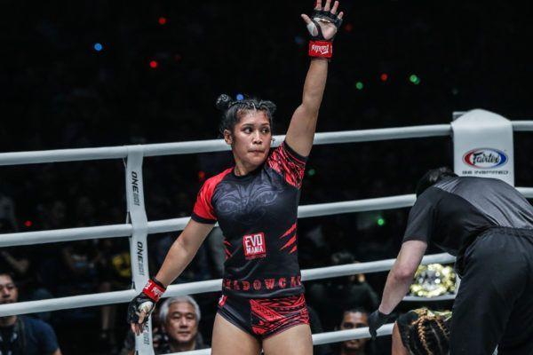 Malaysian atomweight mixed martial artist Jihin Radzuan