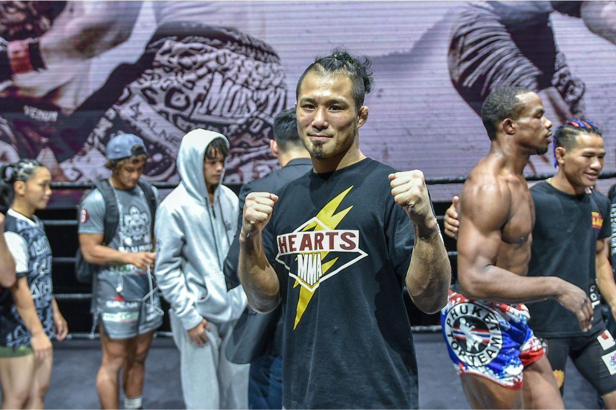ONE Warrior Series contract winner Kimihiro Eto