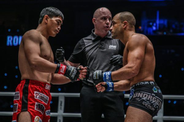 Filipino icon Eduard Folayang and American mixed martial arts legend Eddie Alvarez finally meet in the center of the ring