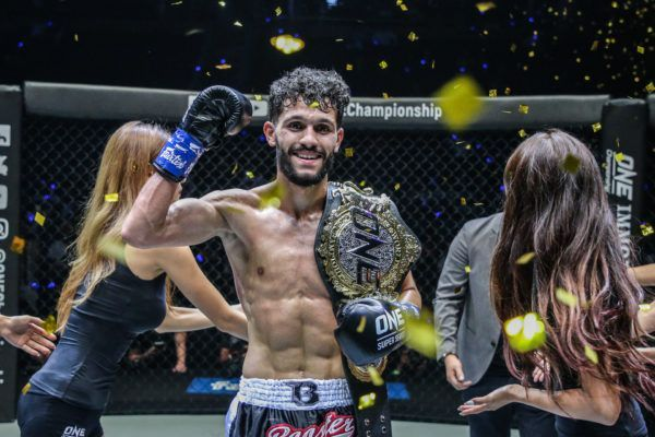 Ilias Ennahachi wins the ONE Flyweight Kickboxing World Title
