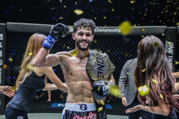 Ilias Ennahachi wins the ONE Flyweight Kickboxing World Title