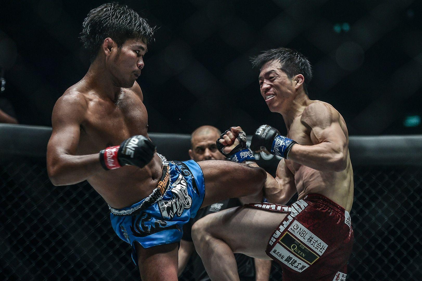 Muangthai PK.Saenchaimuaythaigym ONE DREAMS OF GOLD