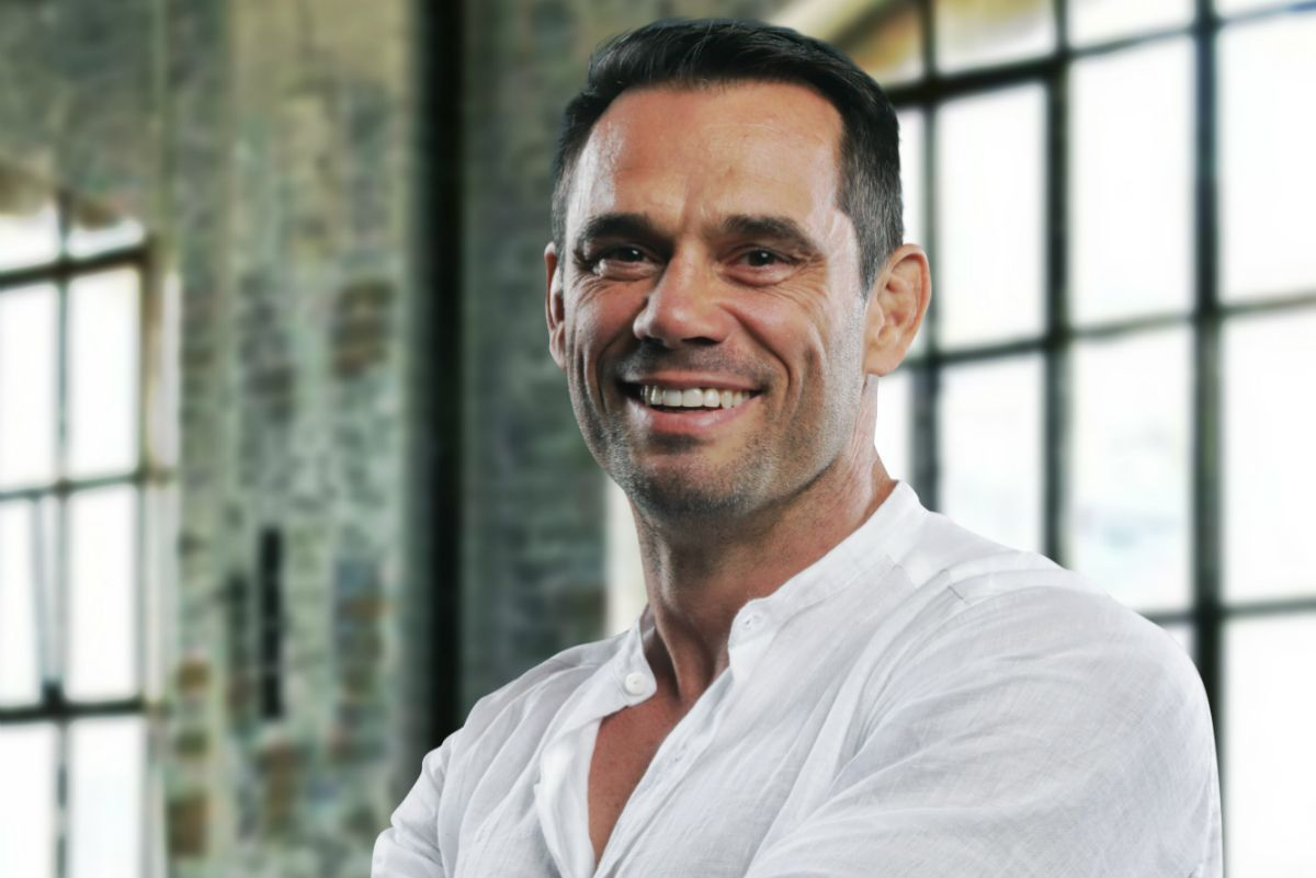 Multi-time Middleweight World Champion Rich Franklin has a lot to be happy about