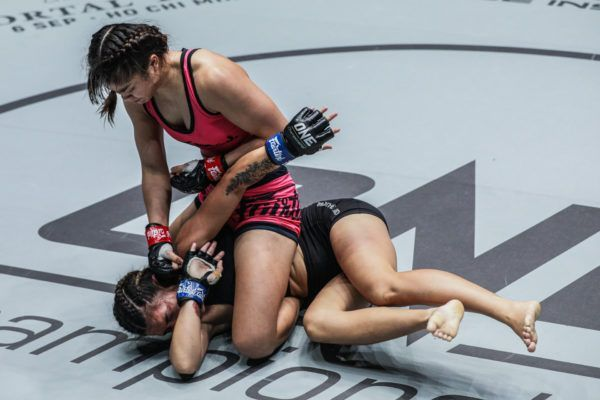 Stamp Fairtex defeats Asha Roka via submission at ONE DREAMS OF GOLD