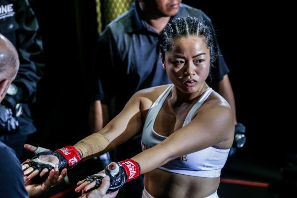 Vietnamese-American MMA star Bi Nguyen gets ready to do battle in the Circle