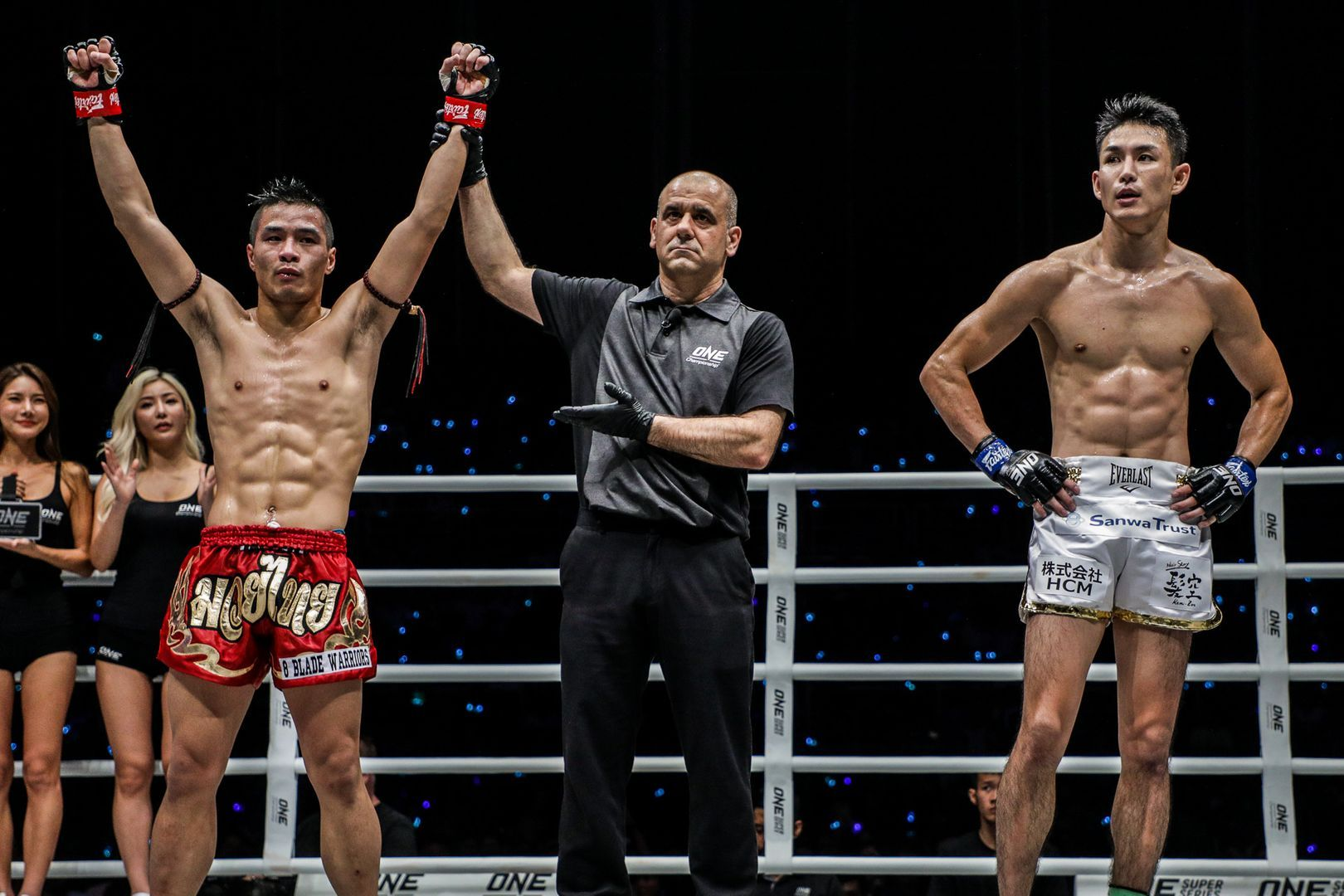 Chris Nguyen takes the judges' decision against Yukinori Ogasawara at ONE IMMORTAL TRIUMPH