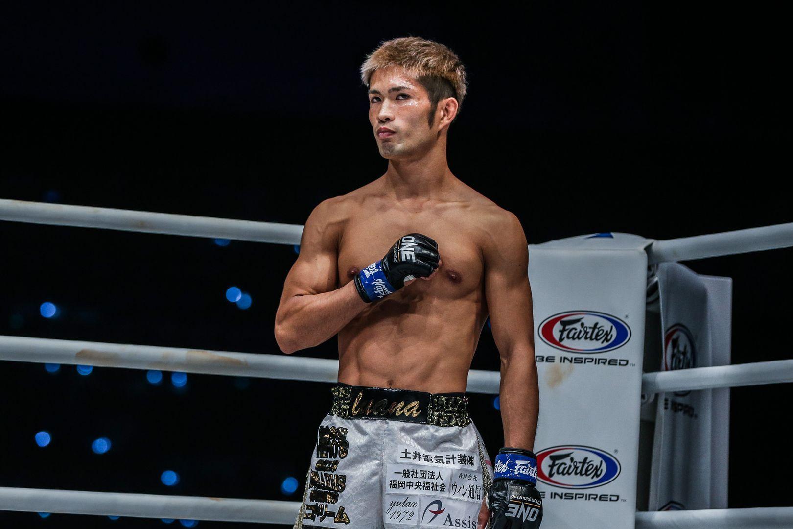 Japanese Muay Thai fighter Momotaro