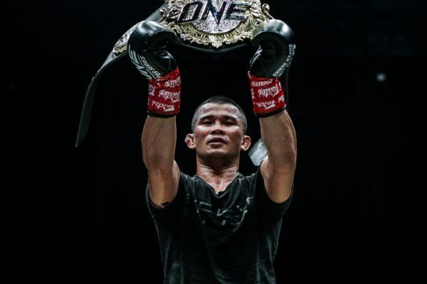 ONE Bantamweight Muay Thai World Champion Nong-O Gaiyanghadao