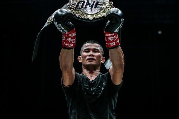 ONE Bantamweight Muay Thai World Champion Nong-O Gaiyanghadao