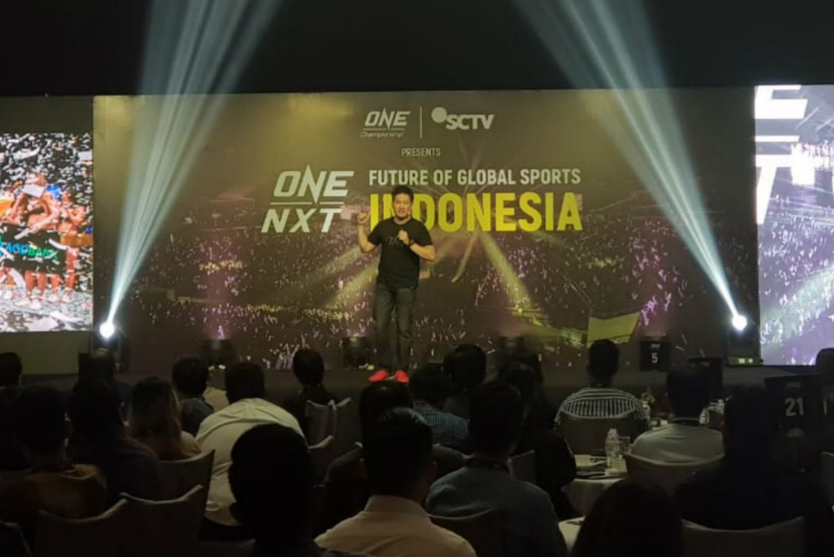 ONE Championship Chairman and CEO Chatri Sityodtong at ONE:NXT Indonesia