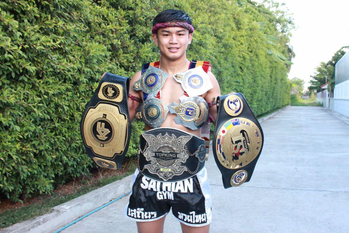 "Seven-time Muay Thai World Champion ""Million Dollar Baby"" Sangmanee Sathian MuayThai"
