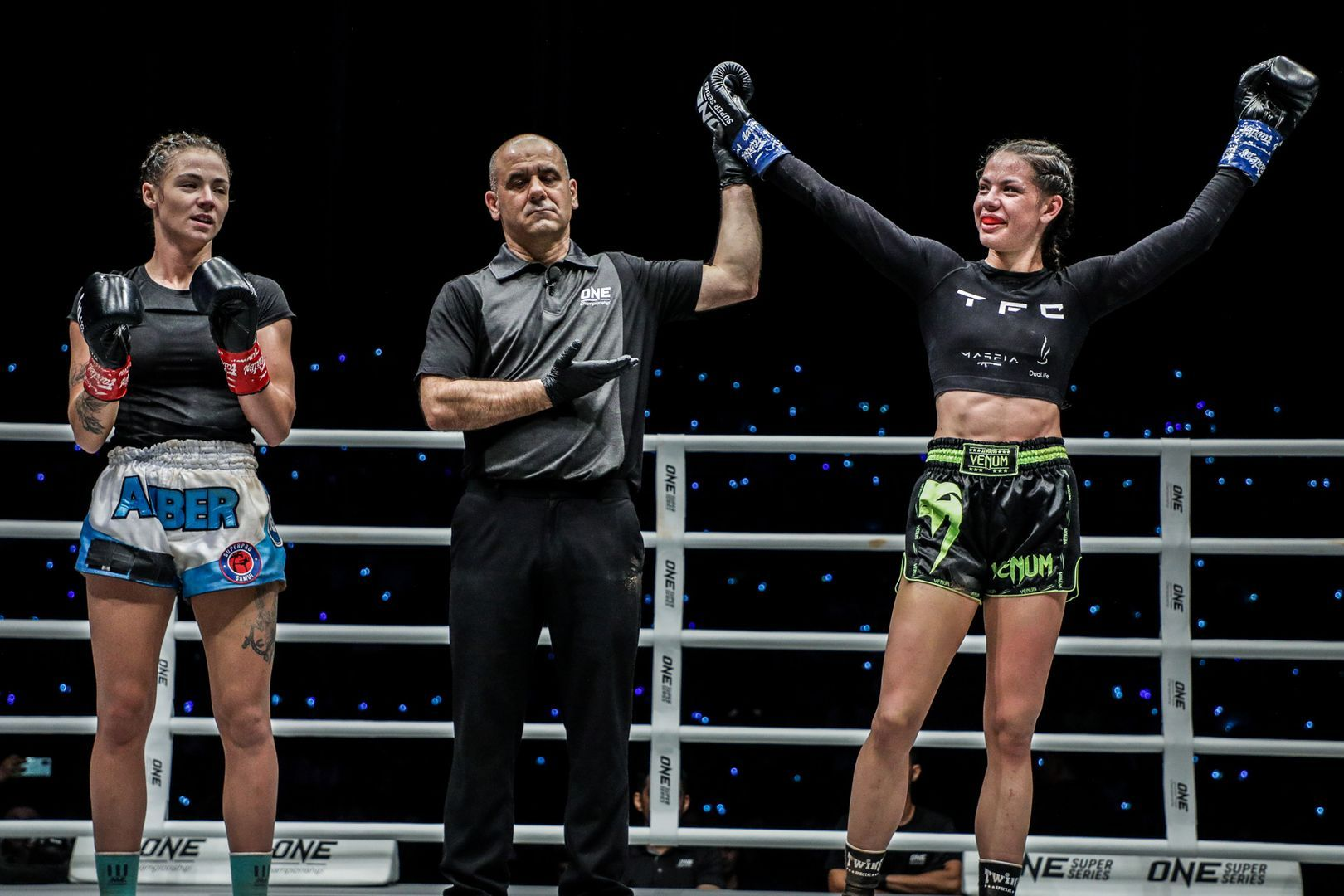 Victoria Lipianska takes the decision from Amber Kitchen with punches at ONE: IMMORTAL TRIUMPH