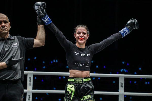 Viktoria Lipianska defeats Amber Kitchen at ONE: IMMORTAL TRIUMPH via split decision
