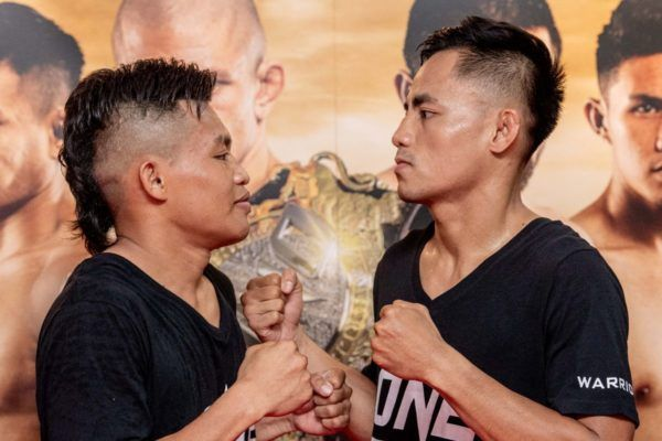 Adrian Mattheis and Stefer Rahardian face off at the ONE DAWN OF VALOR open workout