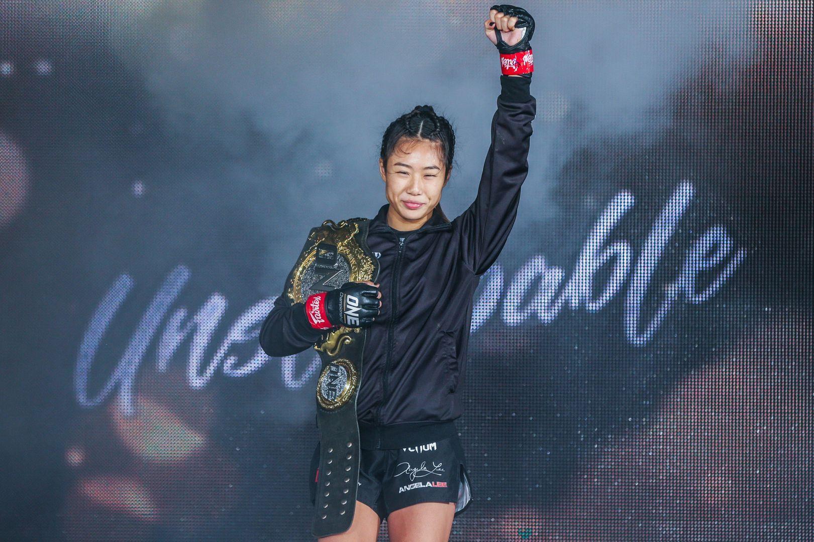"""ONE Women's Atomweight World Champion """"Unstoppable"""" Angela Lee"""