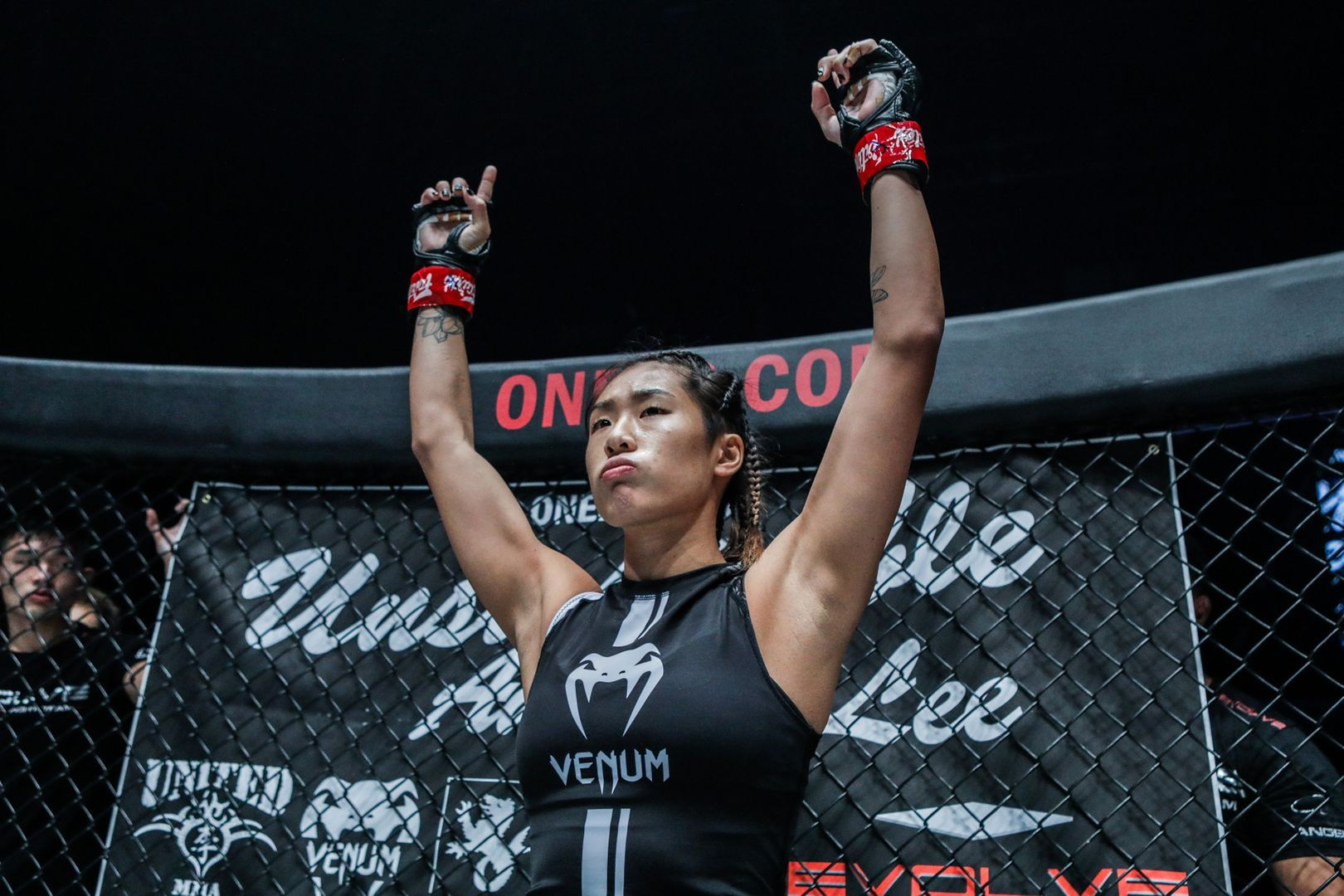 Singaporean-American mixed martial arts superstar Angela Lee is ready for action