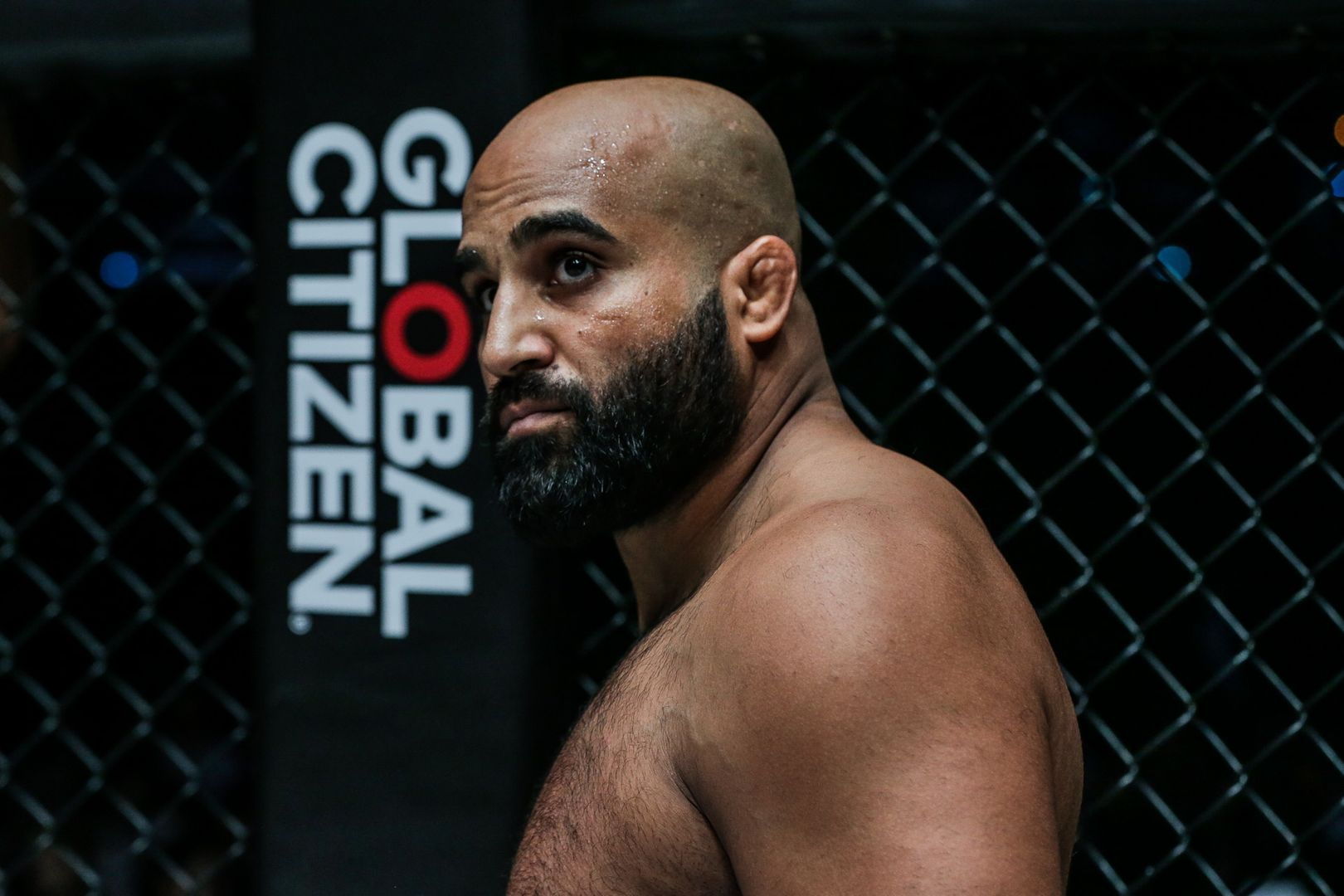 Indian mixed martial artist Arjan Bhullar headshot