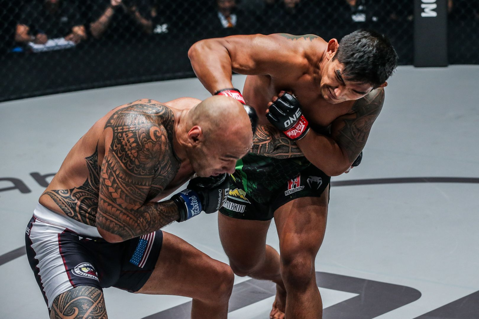 Aung La N Sang battles Brandon Vera at ONE: CENTURY