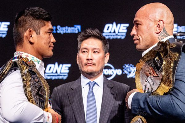 Aung La N Sang vs. Brandon Vera at the ONE CENTURY press conference