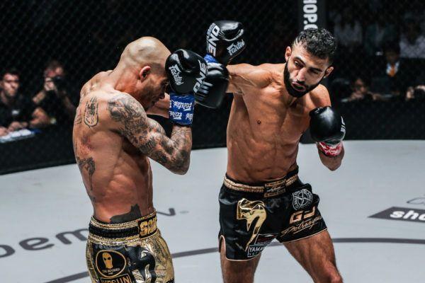 Kickboxing GOAT Giorgio Petrosyan punches Samy Sana
