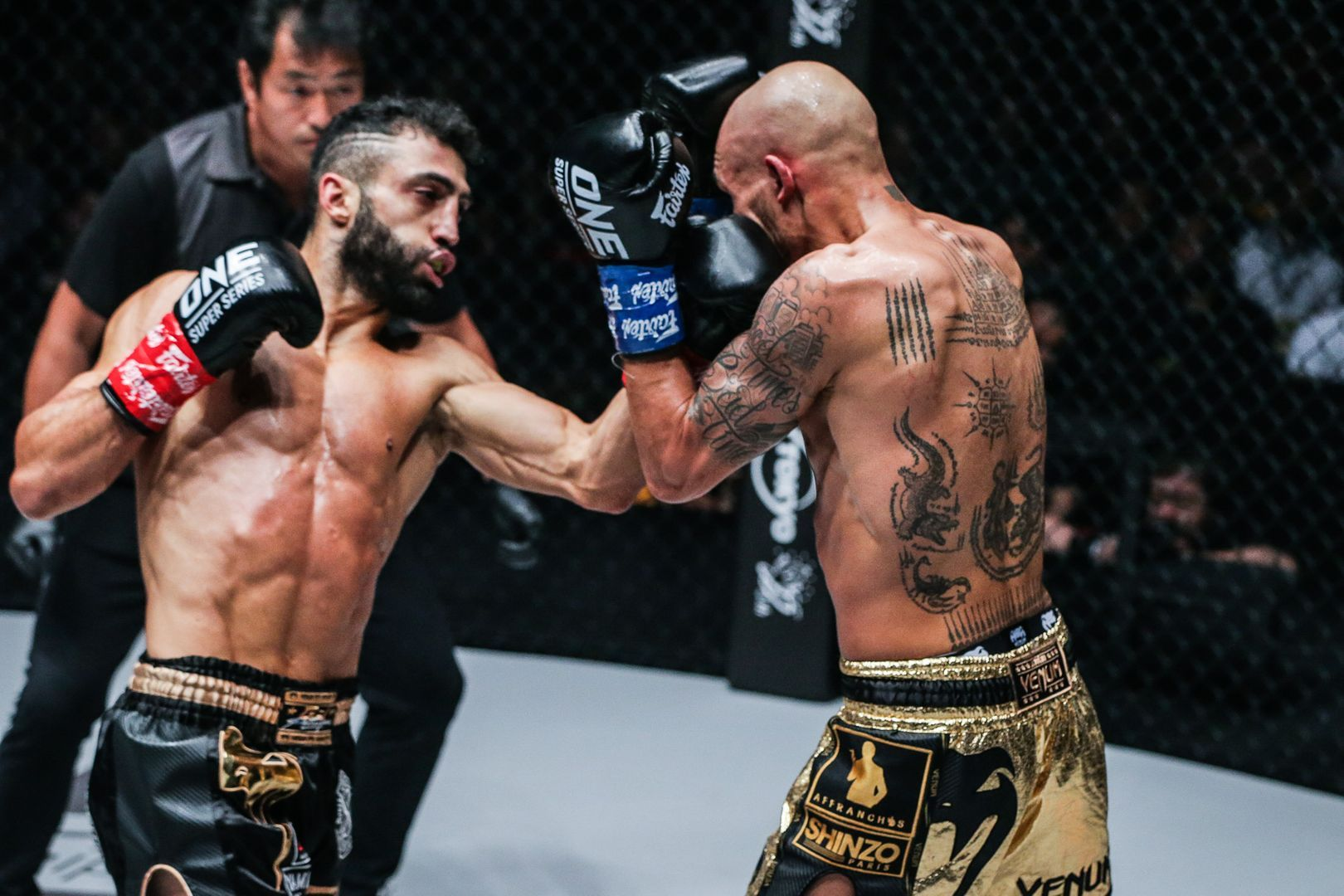 Giorgio Petrosyan attacks Samy Sana At ONE CENTURY PART II