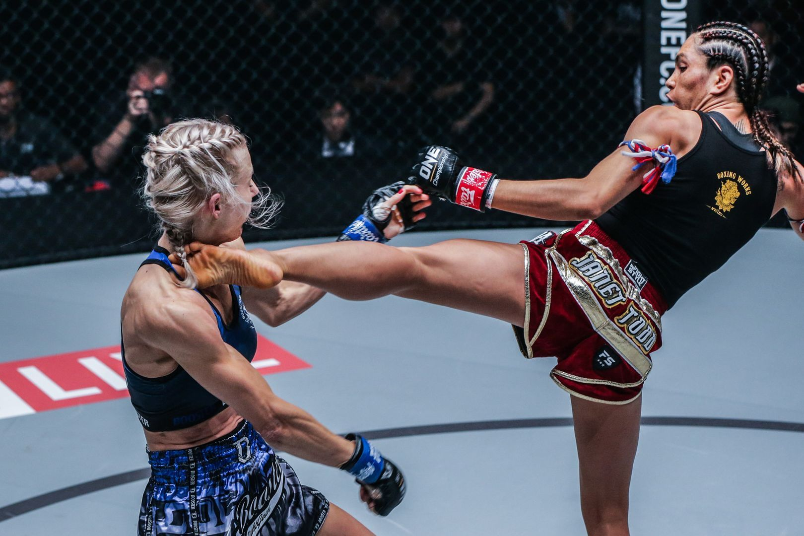 American Janet Todd added to her highlight reel with a head kick KO over Ekaterina Vandaryeva at ONE: CENTURY in Tokyo.