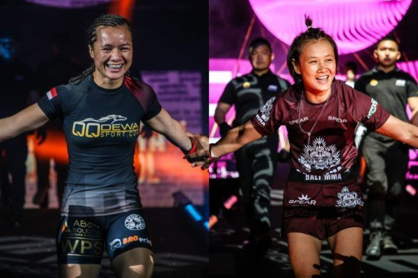 Priscilla Hertati Lumban Gaol faces Bozhena Antoniyar at ONE: DAWN OF VALOR