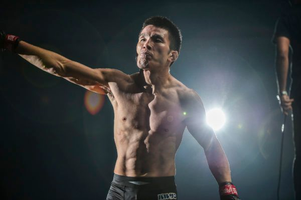 Japanese MMA legend Shinya Aoki