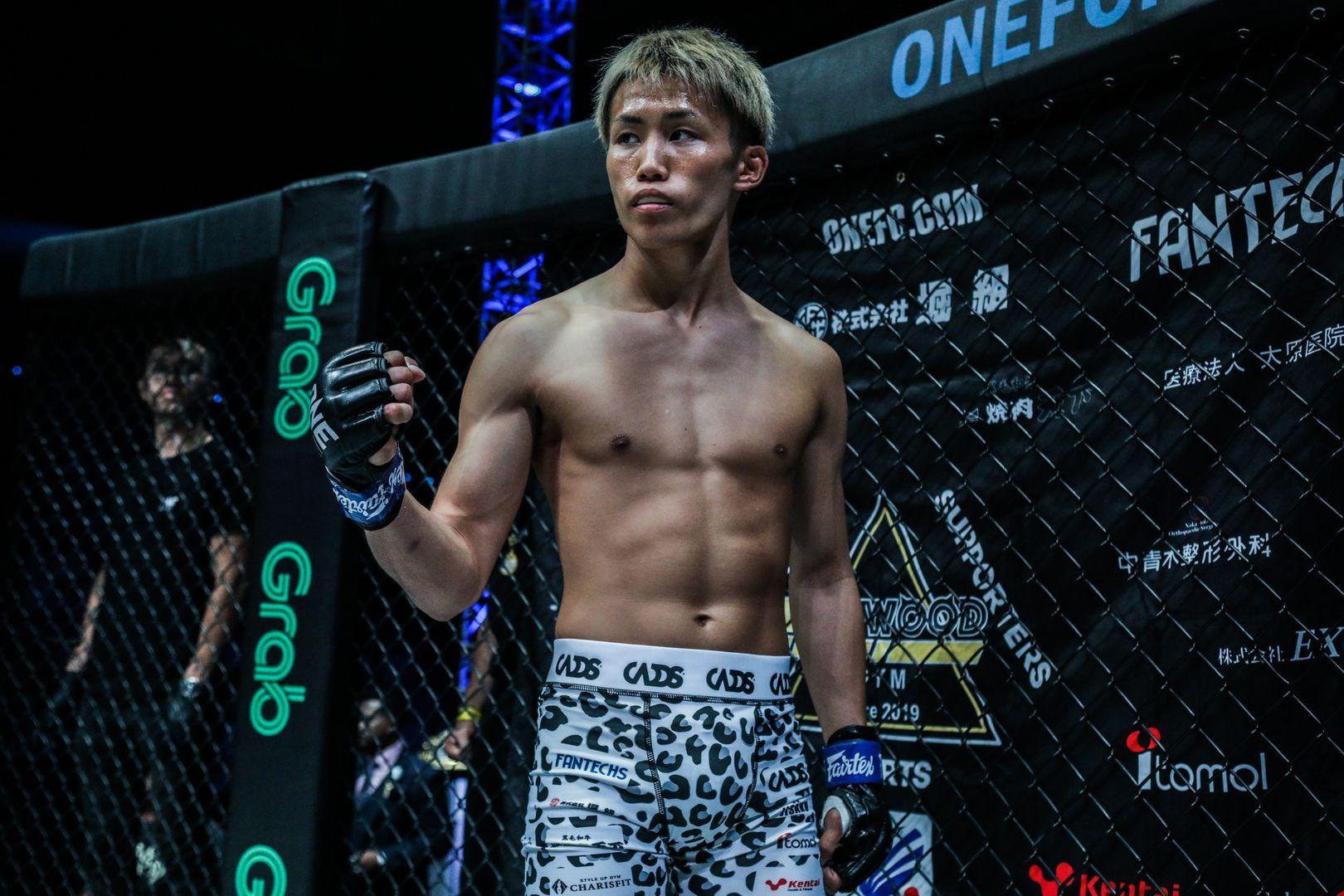 Japanese Muay Thai fighter Taiki Naito