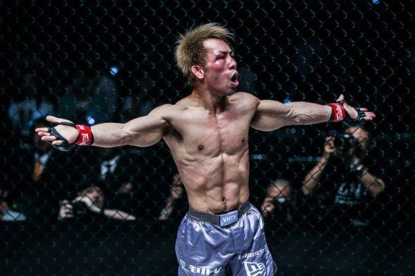 Japanese MMA fighter Yosuke Saruta