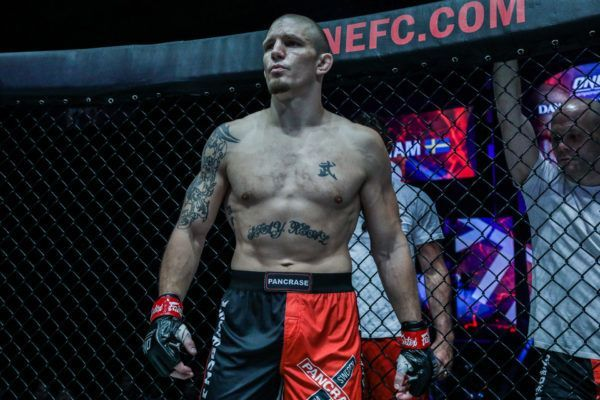 MMA fighter Zebaztian Kadestam is ready to fight